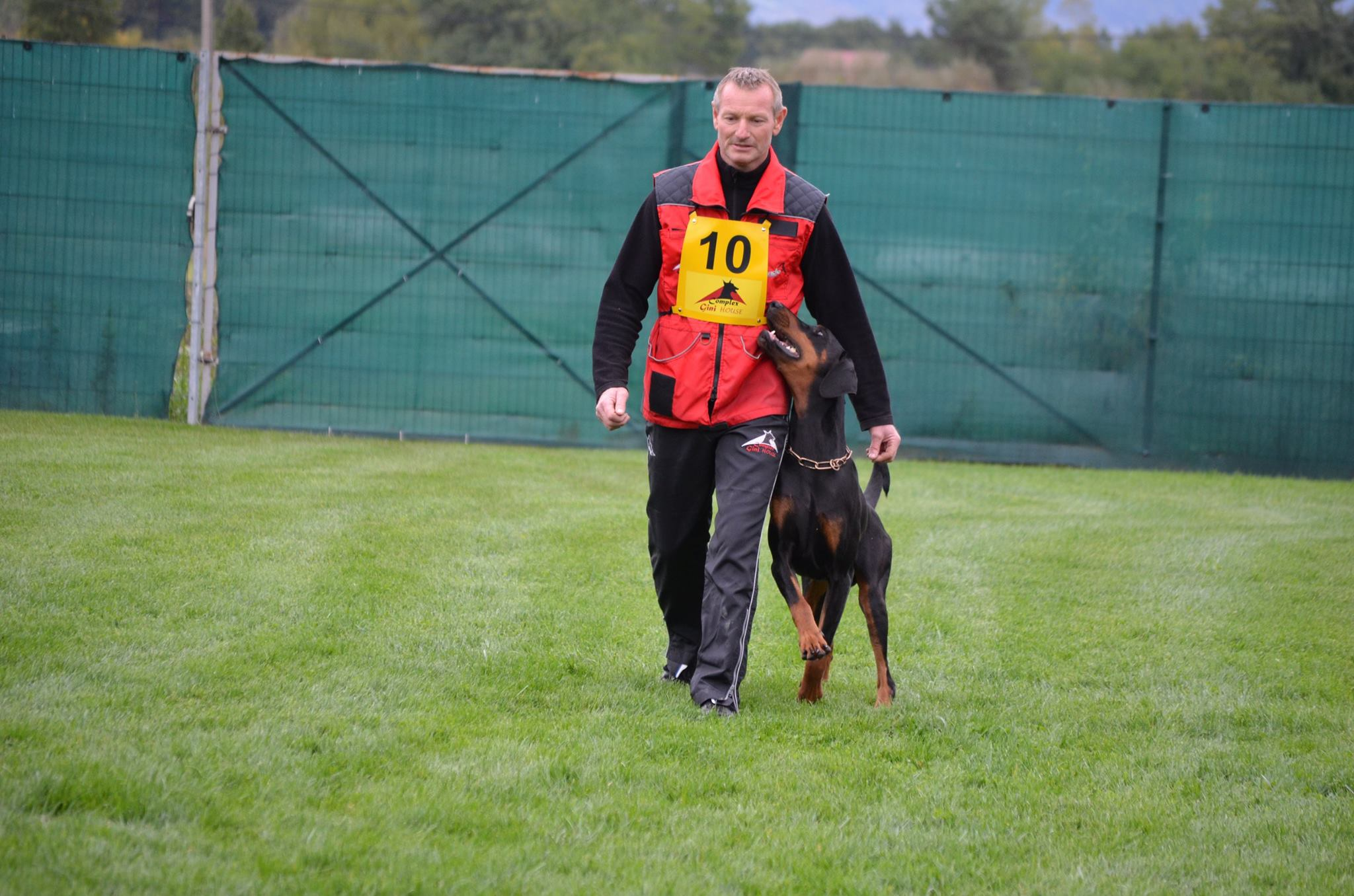 07 - Gamon Von Gini House-IPO 1, IPO 1 Winner,A 89, B 88,C 96, IPO1 Dobermann Winner, Part C Winner, part A 3-rd place, part B 2-nd place, part A,B,C Dobermann Winner